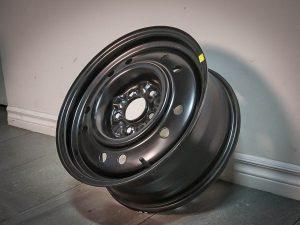 Steel-Acier Wheels Styled - Black (S18-1665-65BN+40C670)