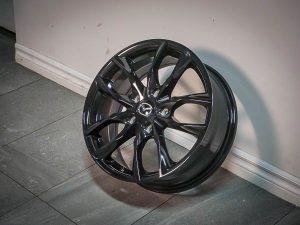 Mazda M011 Alloy Wheel (Fast Wheels Switch - Titanium (F212-1775-65TN+45C671)